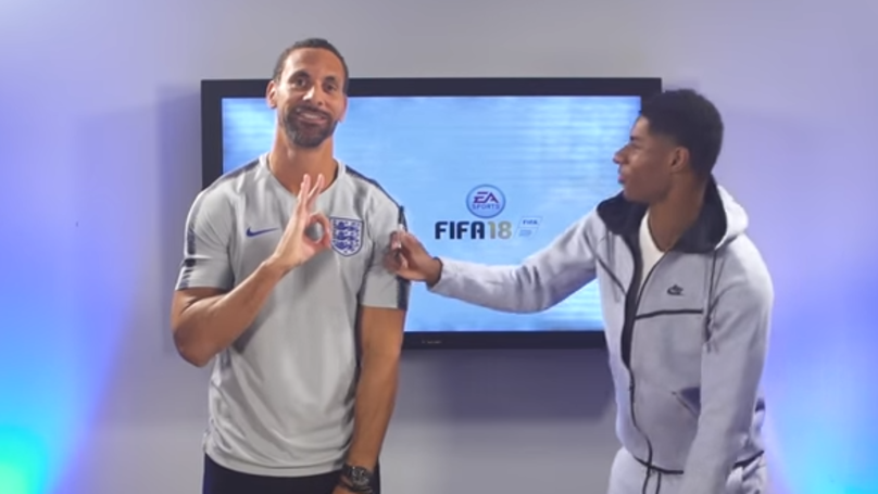 Ferdinand And Rashford Reveal England's FIFA World Cup Ratings, Lingard Gets Trolled
