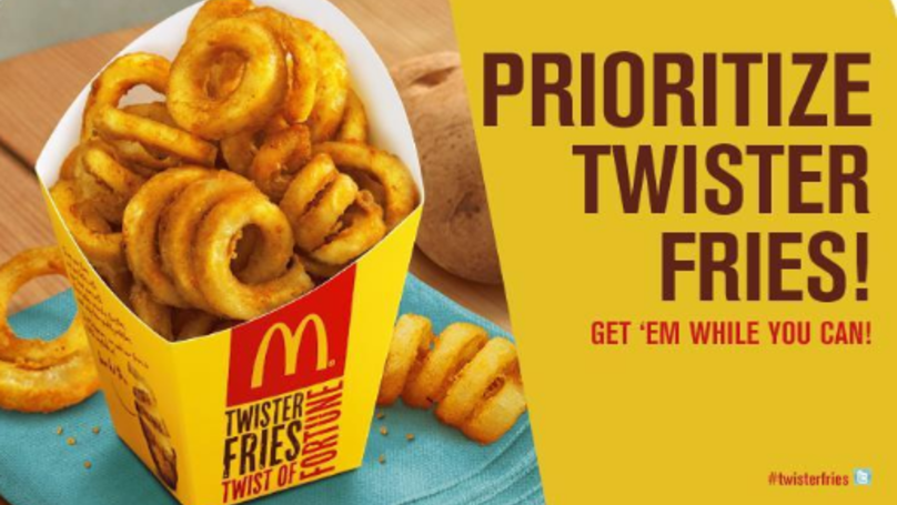 Curly Fries Are Soon Going To Be Available At Some McDonald's