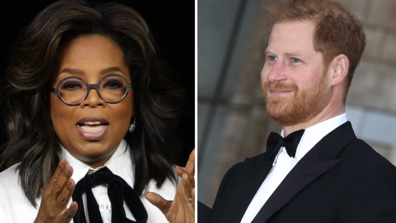 Prince Harry And Oprah Are Joining Forces For An Important Mental Health Documentary