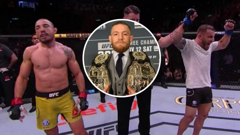 Conor McGregor Brutally Mocks Jose Aldo On Twitter, Then Deletes Tweet
