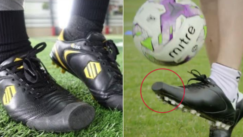 You Can Actually Buy Football Boots Designed For People Who 'Toe Poke'