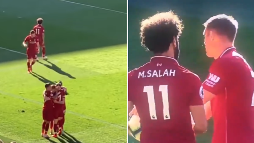 Mo Salah Didn't Celebrate James Milner Penalty After Argument