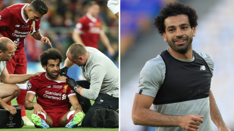 Mo Salah Posts For First Time Since Champions League Injury