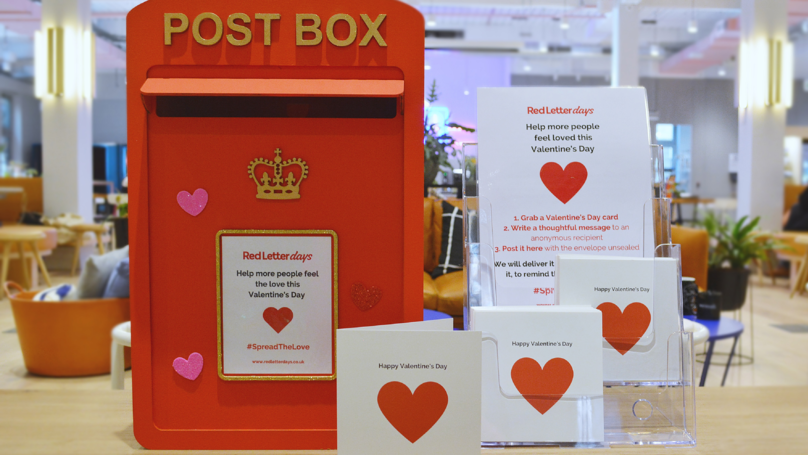 Letterboxes Are Appearing So You Can Send Valentine's Cards To Lonely People