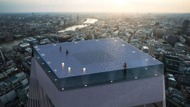 200m Skyscraper With A 360-Degree Infinity Pool To Be Built In London