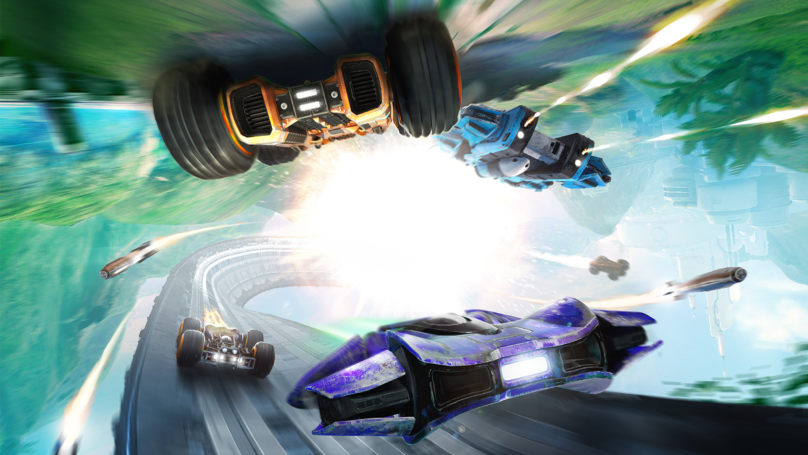 Anti-Grav Update For 'Grip' Adds 'Wipeout'-Style Racers