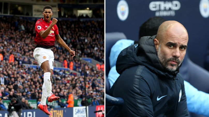 Pep Guardiola Claims That Manchester United Are Title Contenders