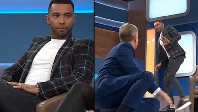Jermaine Pennant Appears On 'Jeremy Kyle' But Refuses To Take Lie Detector Test