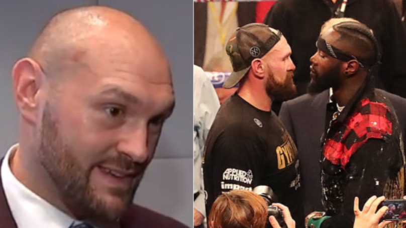 Odds Released For Deontay Wilder Vs. Tyson Fury, Fury Reacts Brilliantly