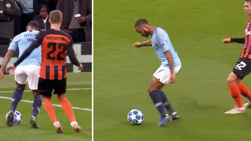 Raheem Sterling Was Awarded The Most Farcical Penalty You'll See