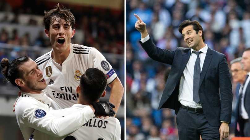 Santiago Solari Completes His First Signing For Real Madrid