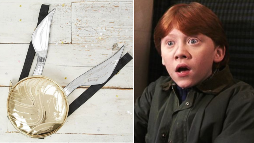 Primark Is Selling This Magical Golden Snitch Backpack For Just £10