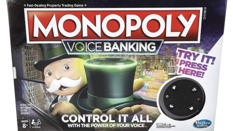 New Monopoly Has Voice Controlled Banker So You Can Never Cheat