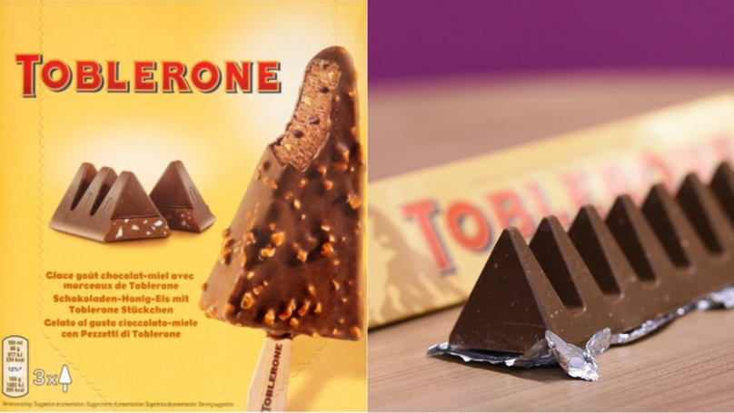 Toblerone Now Exists In Ice Cream Form And It Looks Delicious