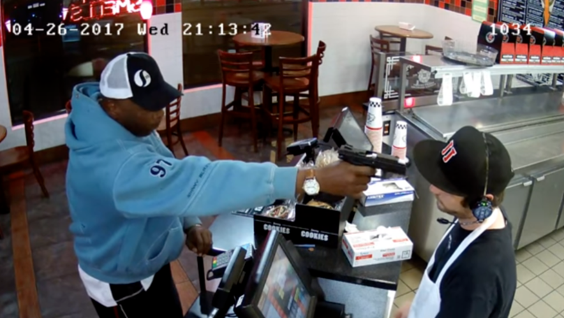Chill Guy Who Didn't Care About Gun In His Face Calls Robber A 'Bitch'