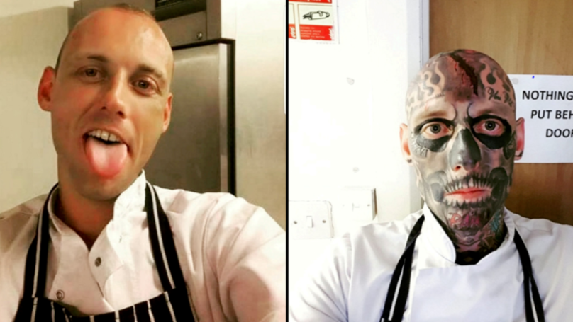 Man Complains About Getting Trolled Online After Covering His Face In Tattoos