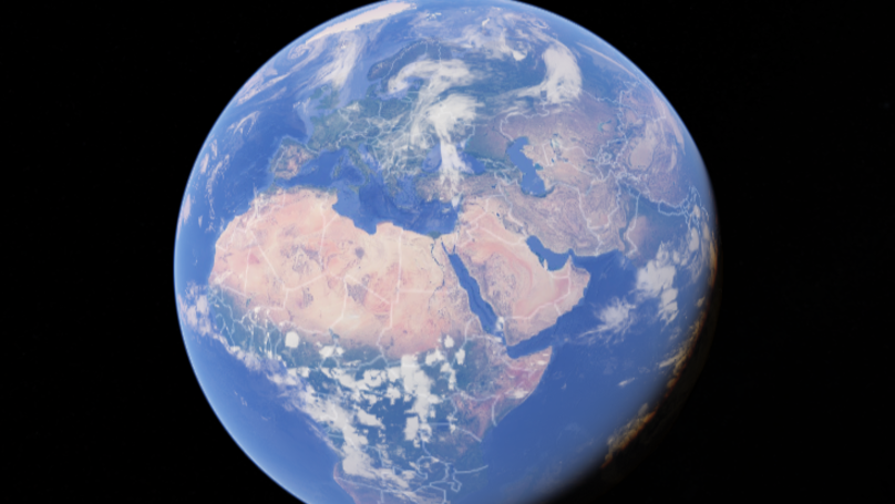 There Are Some Places On Earth That Google Maps Wont Show LADbible - Google maps globe
