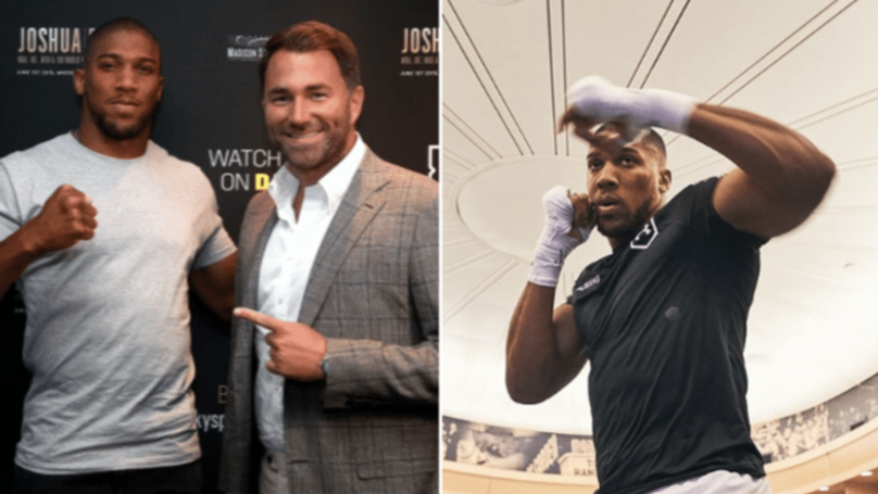 Eddie Hearn Still Ranks Anthony Joshua As Best Heavyweight Boxer In The World