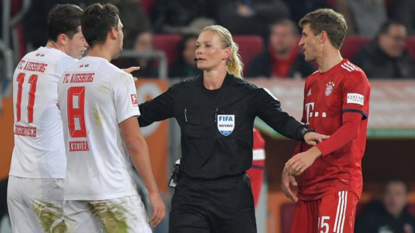 Iranian TV Cancelled Broadcast Of Bayern Munich Game Because Ref Was A Woman
