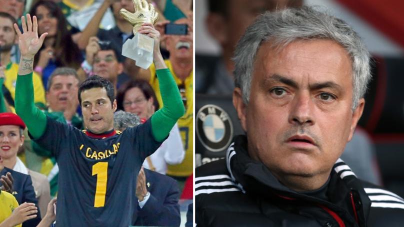 Julio Cesar Reveals The Brutal Casillas-Related Text Mourinho Sent Him In 2013