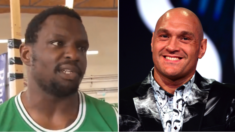 "Dillian Whyte Says He ""Laid Out"" Tyson Fury In Sparring As Rivalry Intensifies"