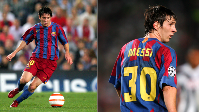 Lionel Messi Used His Left Foot, Right Foot And Head When Scoring His First Eight Barcelona Goals