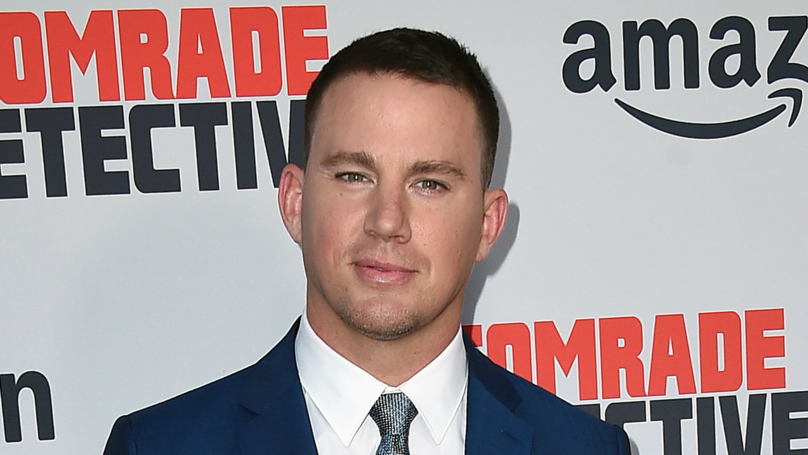 Channing Tatum Turns Up To Preschool Halloween Party Dressed As A Unicorn