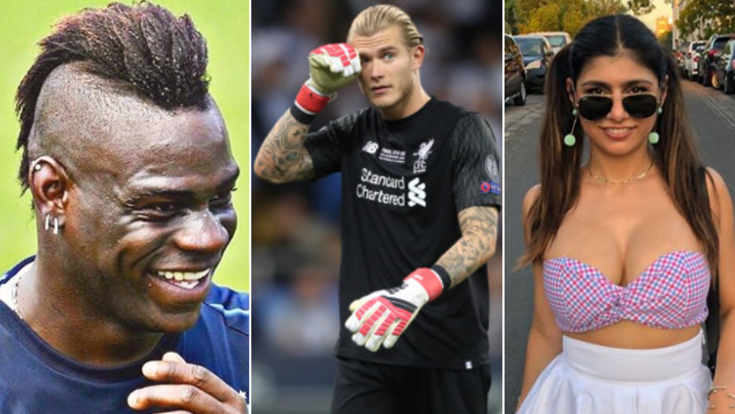 Ex-Pornstar Mia Khalifa Replies To Loris Karius, Mario Balotelli Also Joins In