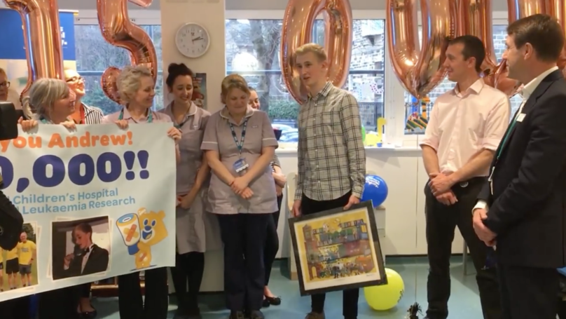 Leukaemia Teen Repays NHS £150k For His Life-Saving Treatment