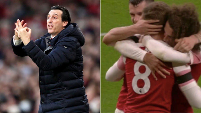 Arsenal Fans Boo Unai Emery In 75th Minute, Proves Them Wrong Four Minutes Later