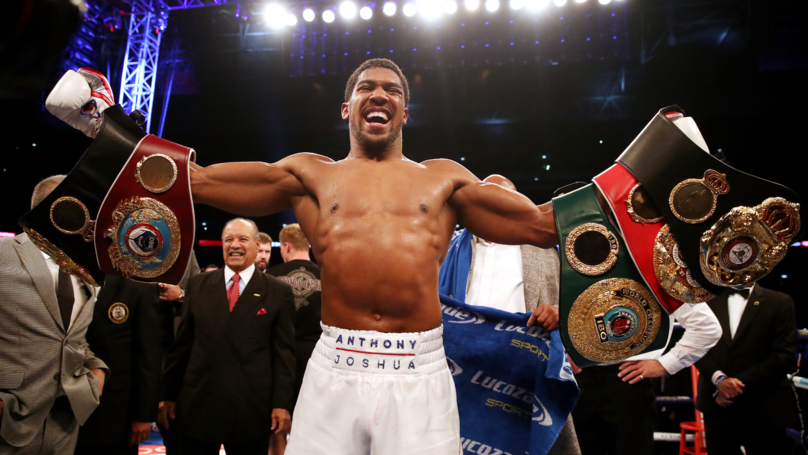 Anthony Joshua Names The Three Boxers He Wants To Fight Next