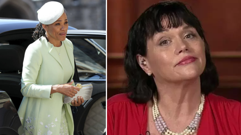 Samantha Markle Claims Doria Ragland Looked Like A 'Hockey Player' At The Royal Wedding