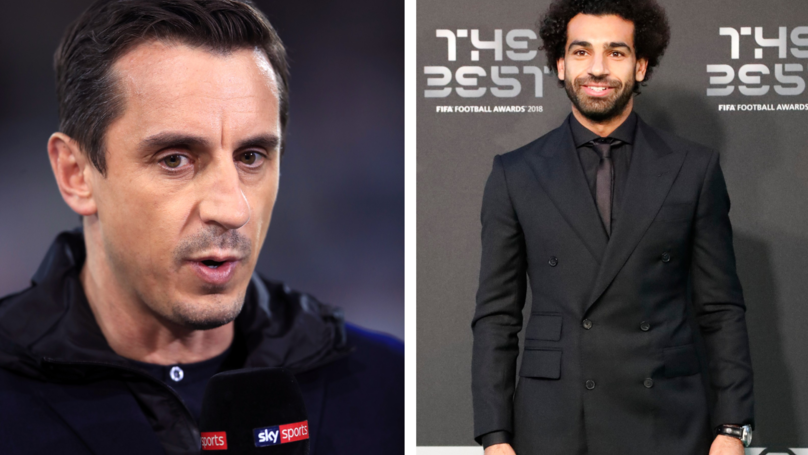 Salah Creates Awkward Moment For Gary Neville After Snubbing Interview Request
