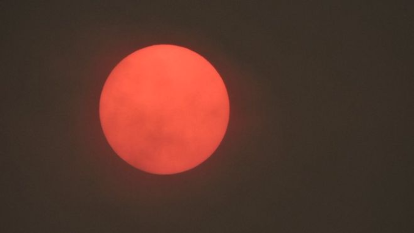 Hurricane Ophelia Is Causing The Sun To Turn Red In UK