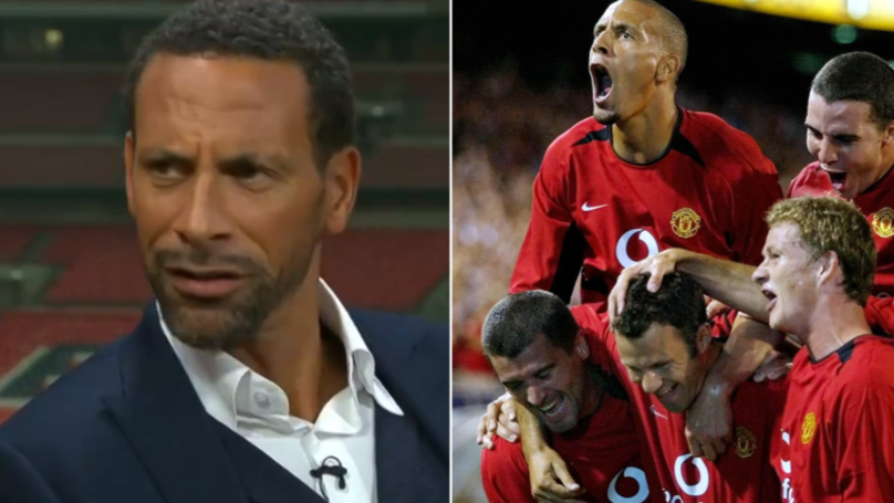 How Ole Gunnar Solskjaer Ruined Rio Ferdinand On His First Day At Manchester United