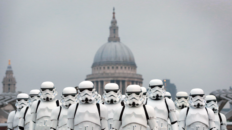 Prince Harry And Prince William Set To Play Stormtroopers In 'Star Wars: The Last Jedi'