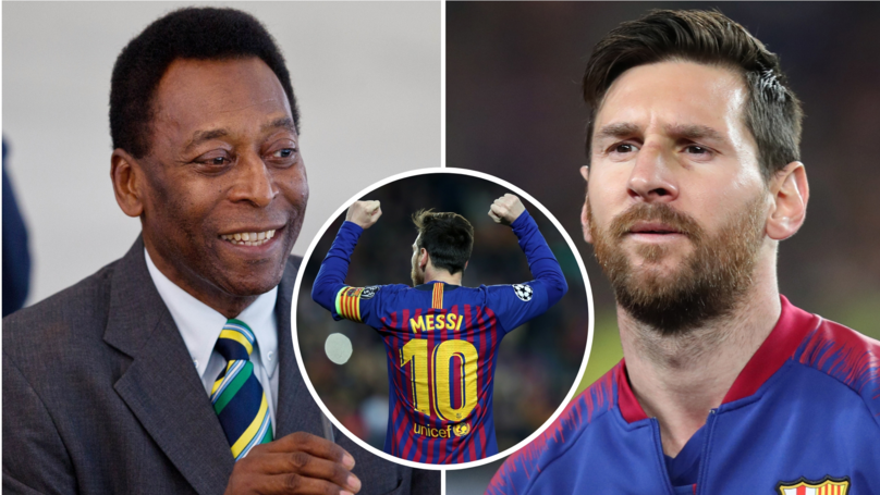 Barcelona Fan Slated Pelé In Brilliant Thread After Brazilian Legend's Criticism Of Lionel Messi