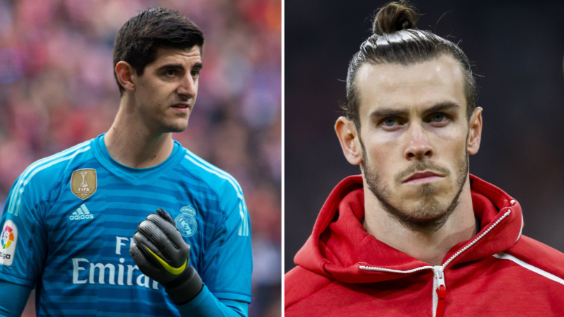 Thibaut Courtois Reveals Gareth Bale's Nickname At Real Madrid