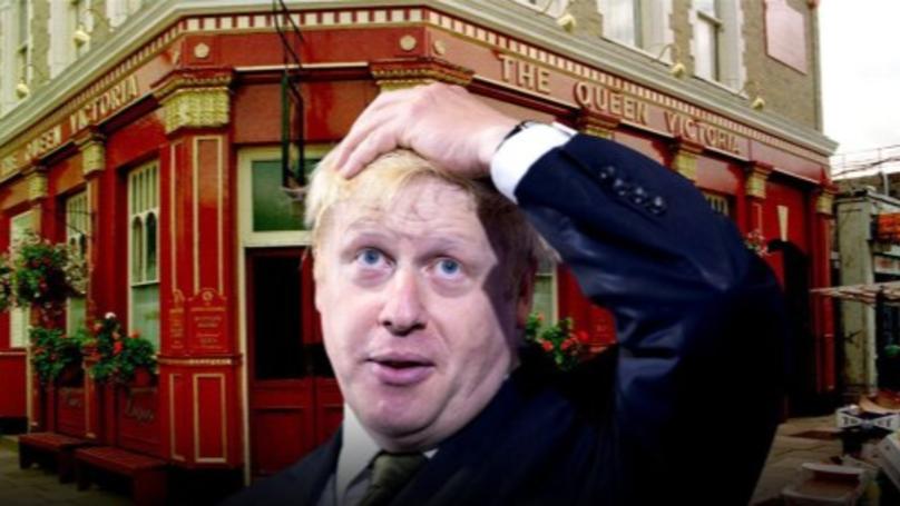 Boris Johnson Made An Eastenders Cameo In 2009