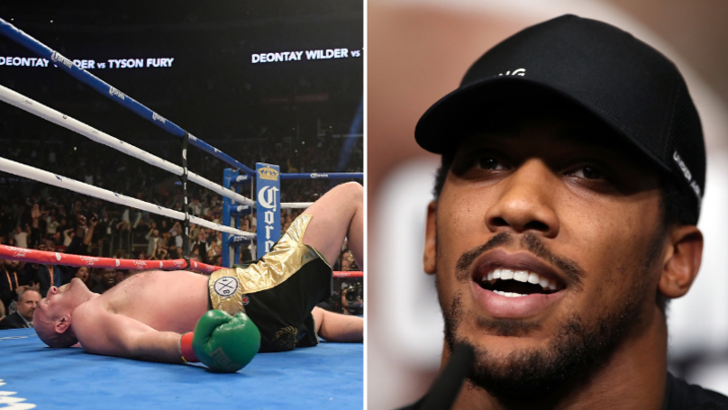 Anthony Joshua Gives His Take On Tyson Fury's 12th Round Recovery