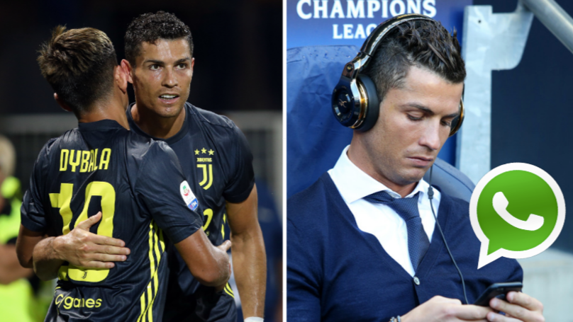 Cristiano Ronaldo Told Paulo Dybala He Must Join Manchester United In WhatsApp Group
