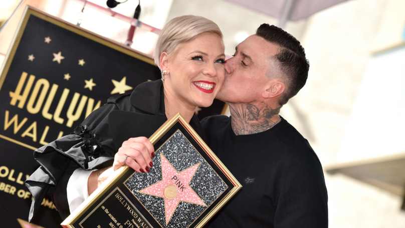 P!nk Has Been Honoured With A Star On The Hollywood Walk Of Fame