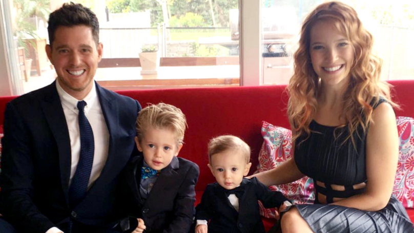 Michael Buble's Son Is Reportedly 'Free From Cancer'