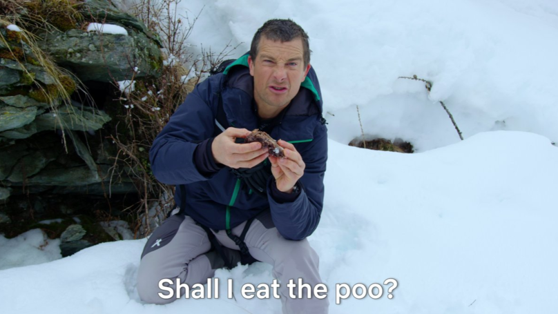 You Can Make Bear Grylls Eat Poo In Netflix's Interactive New Show