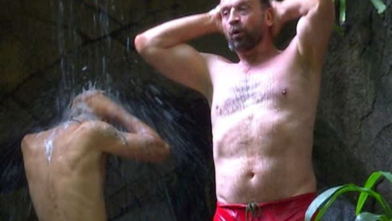 I'm A Celeb Fans Post Hilarious Reactions To Nick Knowles' Very Revealing Shower Trunks