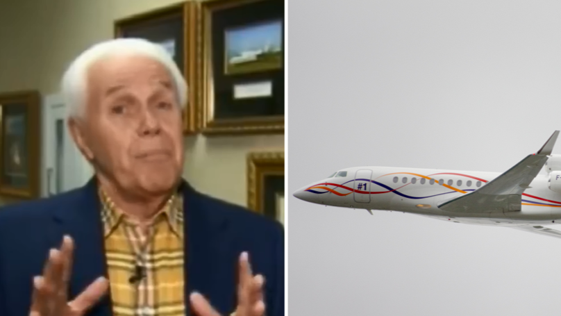 Preacher Claims God Wants Him To Get A Fourth Private Jet