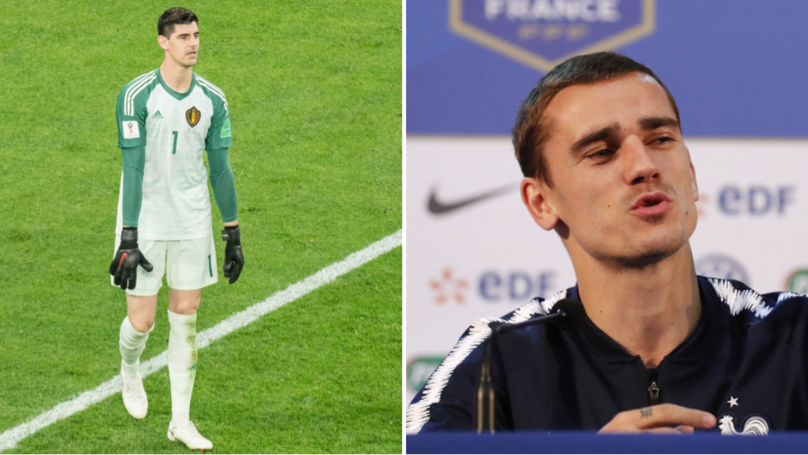 Antoine Griezmann Has Perfect Response To Thibaut Courtois' Salty Comments