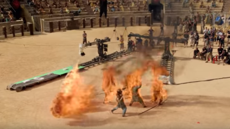 Behind The Scenes Of The Biggest Game Of Thrones Stunts