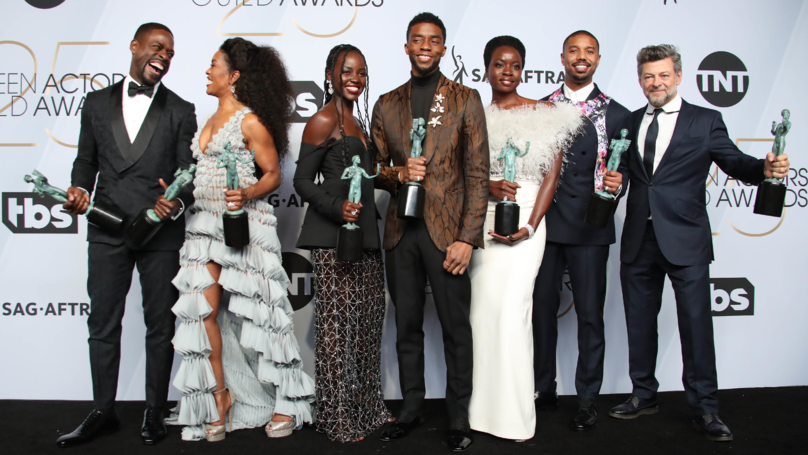 'Black Panther' Wins Big At SAG Awards And The Cast's Acceptance Speech Was So Powerful
