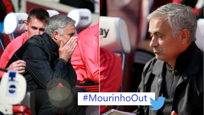 #MourinhoOut Is Trending On Twitter